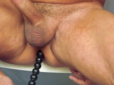 Hot Guy, Jerking off Cock or Dick, prostate play, anal toys #2